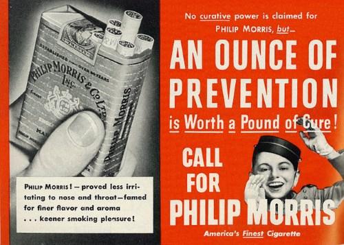 Chinese medicine cigarettes